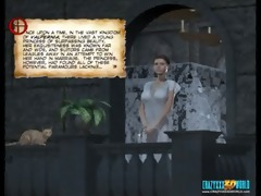 3d comic: tryst. part 1 of 2