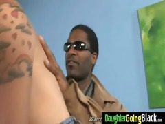 young daughter gets pounded by big black cock 18