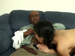 skinny girl copulates her bbc stepdad.