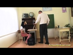 hardcore with naughty schoolgirl