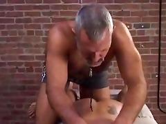 hariy dad likes to abuse