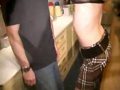 belgian blonde fucks dutch bartender
